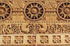 sniden stonework royaltyfria bilder