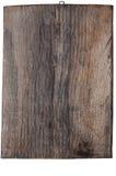 Sniden wood platta royaltyfria foton