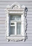 Snidit fönster Royaltyfri Fotografi