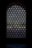 snidit fönster för tomb för skärm för humayunmarmor s Fotografering för Bildbyråer