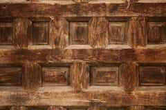snidit gammalt dekorativt wood trä för design Royaltyfria Bilder