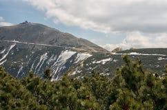 The Sniezka mountain Stock Image