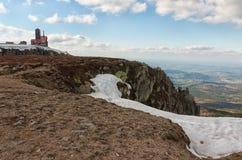 The Sniezne Kotly in the Karkonosze Mountain. Stock Photo