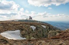 The Sniezne Kotly in the Karkonosze Mountain. Stock Photos