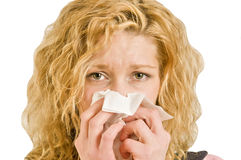 Sniffles Stock Photography