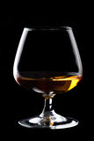 Snifter glass of cognac Royalty Free Stock Photo