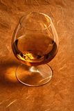 Snifter glass of cognac Royalty Free Stock Photography