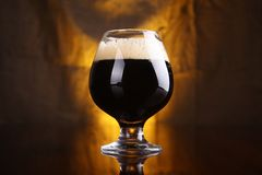 Snifter of stout Stock Images
