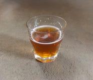 Snifter szkło piwo Fotografia Stock