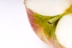 Snijd de appel Royalty-vrije Stock Afbeelding