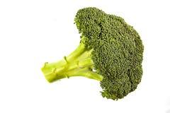 Snijd vers hoofd van broccoli Royalty-vrije Stock Foto's