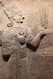 Snijdend in Museum van Anatolische Beschavingen, Ankara Stock Foto's