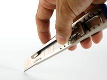 Snijder en Hand Stock Afbeelding