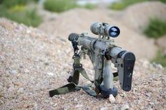 Sniper aim target trooper Stock Images