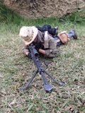 The sniper barret M82A1 scale 1/6 Royalty Free Stock Photography