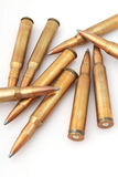 Sniper bullets Royalty Free Stock Photos