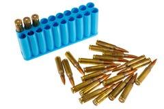Sniper bullets Stock Image