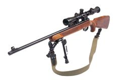 Sniper rifle Stock Photos