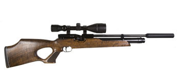 Sniper Rifle Stock Photo