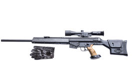Sniper rifle Royalty Free Stock Image