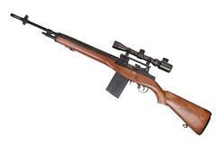 Sniper rifle M14 Stock Image