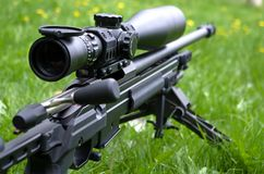 Sniper rifle Royalty Free Stock Photography