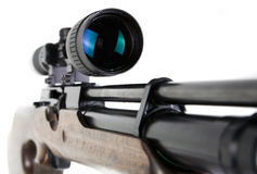 Sniper Rifle and Scope Stock Image