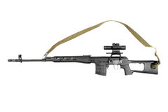 Sniper rifle SVD Stock Photography