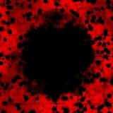 Sniper Scope Red Cells vector illustration