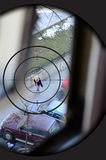 Sniper target. Assassination by sniper, sniper target Royalty Free Stock Photography