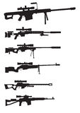 Sniper weapon Royalty Free Stock Photography