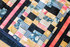 Snippet handbags patchwork. Royalty Free Stock Images