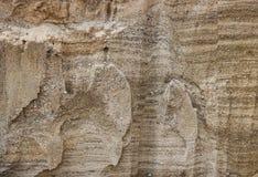 Snittet av stenar för en sand för dyn för sand för sandförrådsplatsvillebråd Royaltyfri Foto