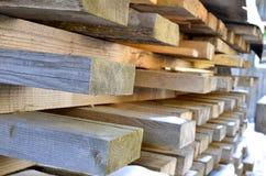 Snittet för brädet för byggnadsmaterial bearbetas inte Fotografering för Bildbyråer