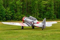 SNJ-6 NORTE-AMERICANO Foto de Stock