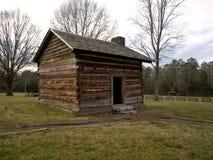 Snodgrass kabin--Chattanooga och Chickamauga slagfält Arkivbilder