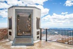 Snoeken Piektop - Amerika het Mooie Monument Royalty-vrije Stock Fotografie
