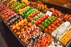 Snoepje in Barcelona Royalty-vrije Stock Fotografie