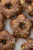 Snoepje en chocolade Stock Foto's