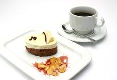 Snoepje en koffie royalty-vrije stock afbeeldingen