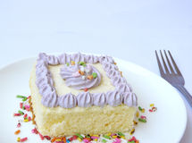 Snoepje van cake royalty-vrije stock afbeeldingen