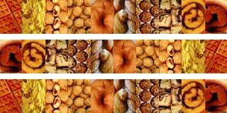 Snoepjes binnen verticale rechthoeken Stock Afbeeldingen
