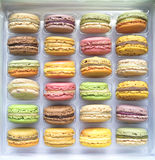 Snoepjes in de doos Royalty-vrije Stock Foto