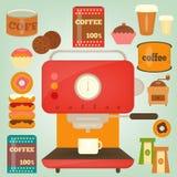 Snoepjes en toebehoren voor de koffie Royalty-vrije Stock Foto