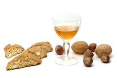 Snoepjes en Wijn Royalty-vrije Stock Foto