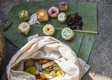 Snoepjes in Myanmar Stock Afbeelding