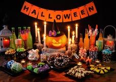 Snoepjes voor Halloween royalty-vrije stock afbeeldingen
