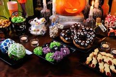 Snoepjes voor Halloween stock foto's