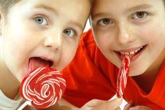 Snoepjes voor het snoepje Stock Foto's