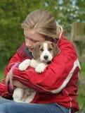 Snoezig Puppy royalty-vrije stock foto's